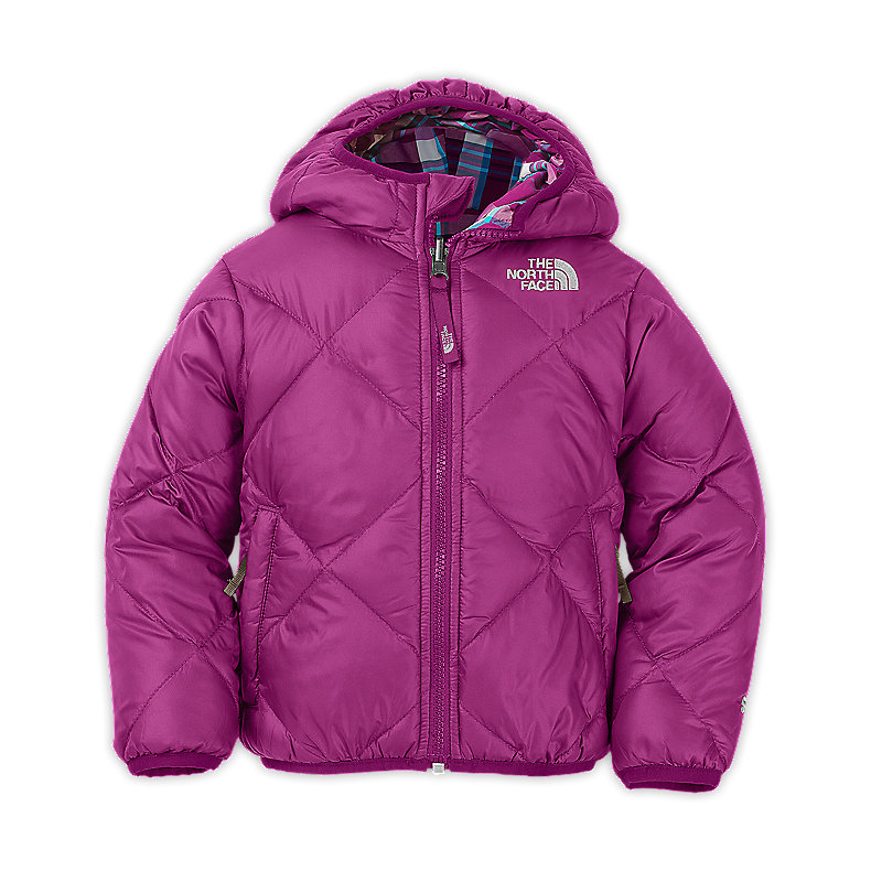 TODDLER GIRLS' REVERSIBLE DOWN MOONDOGGY JACKET