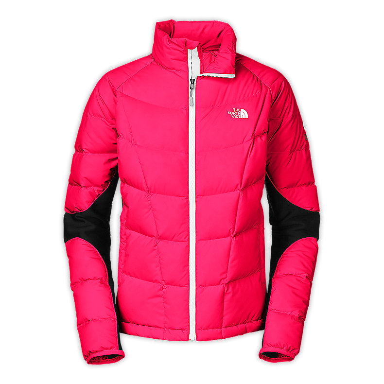 WOMEN'S A-BACK HYBRID DOWN JACKET