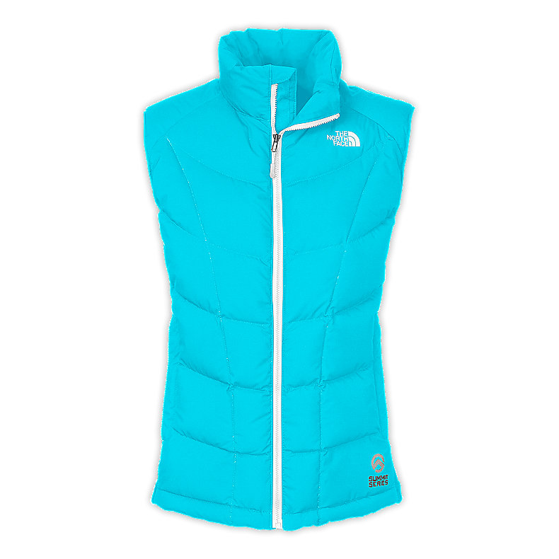 WOMEN'S A-BACK HYBRID DOWN VEST