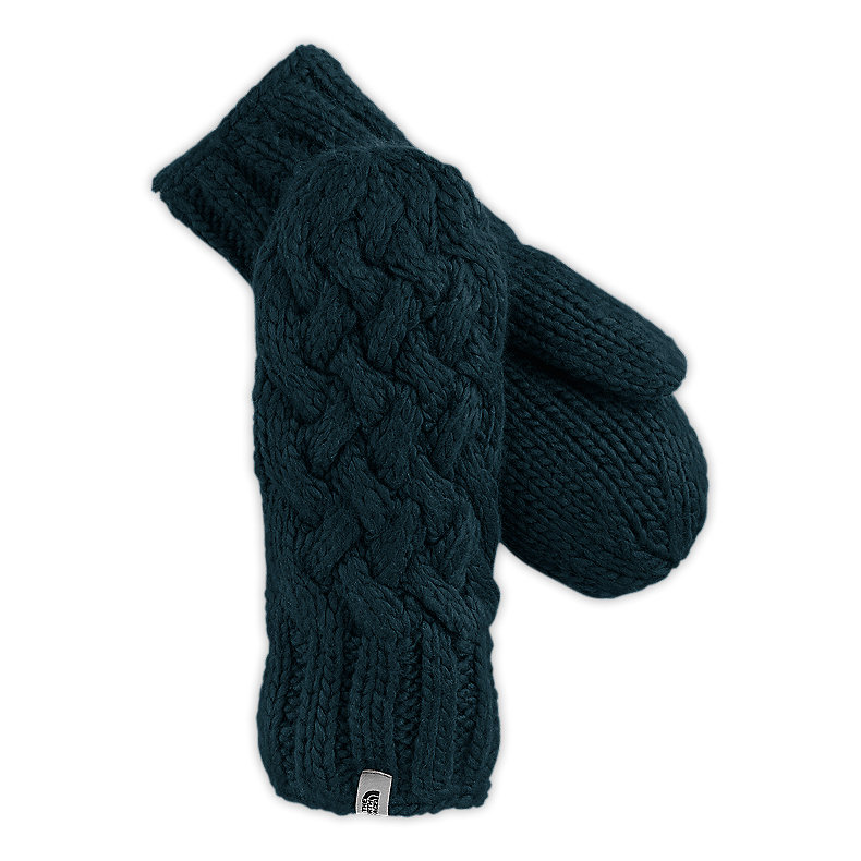 WOMEN'S CABLE KNIT MITT