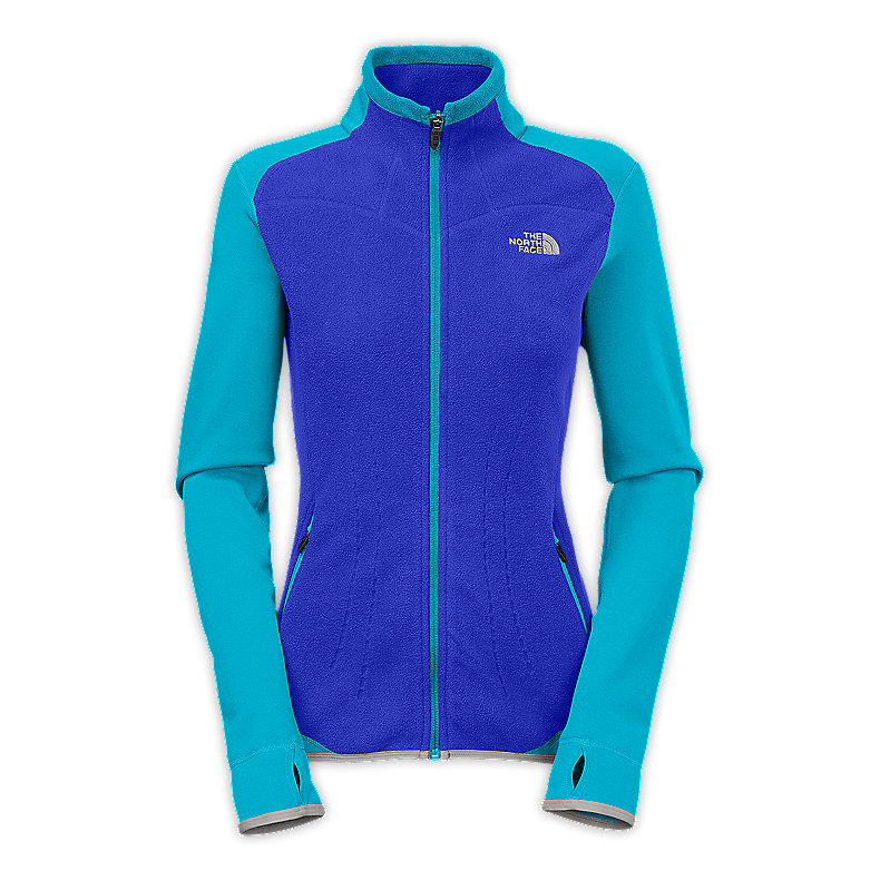 WOMEN'S JACQUARD SPLIT FULL ZIP