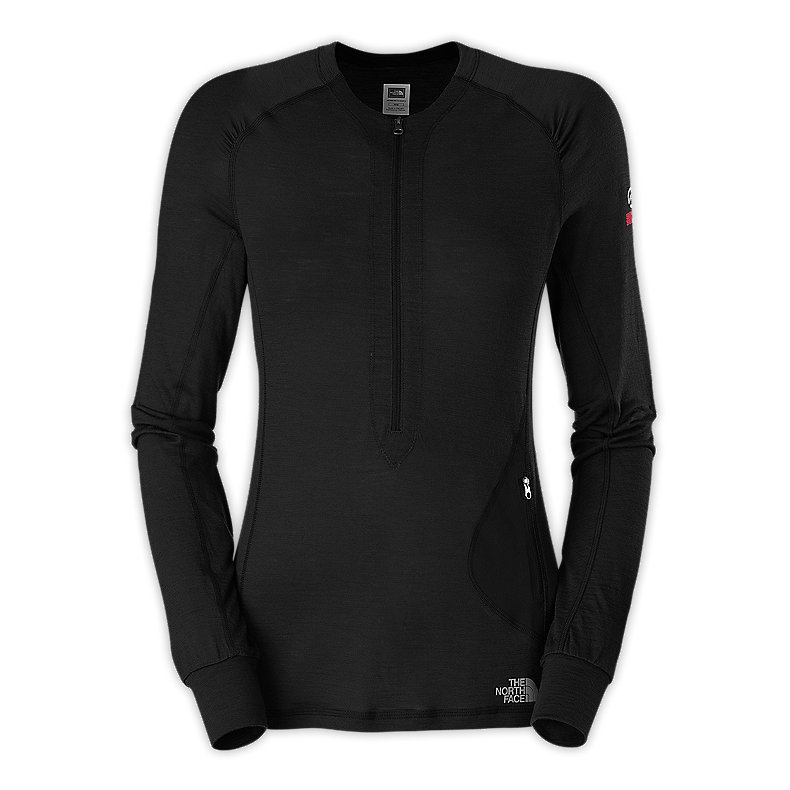 WOMEN'S LONG-SLEEVE LITHO 1/4 ZIP