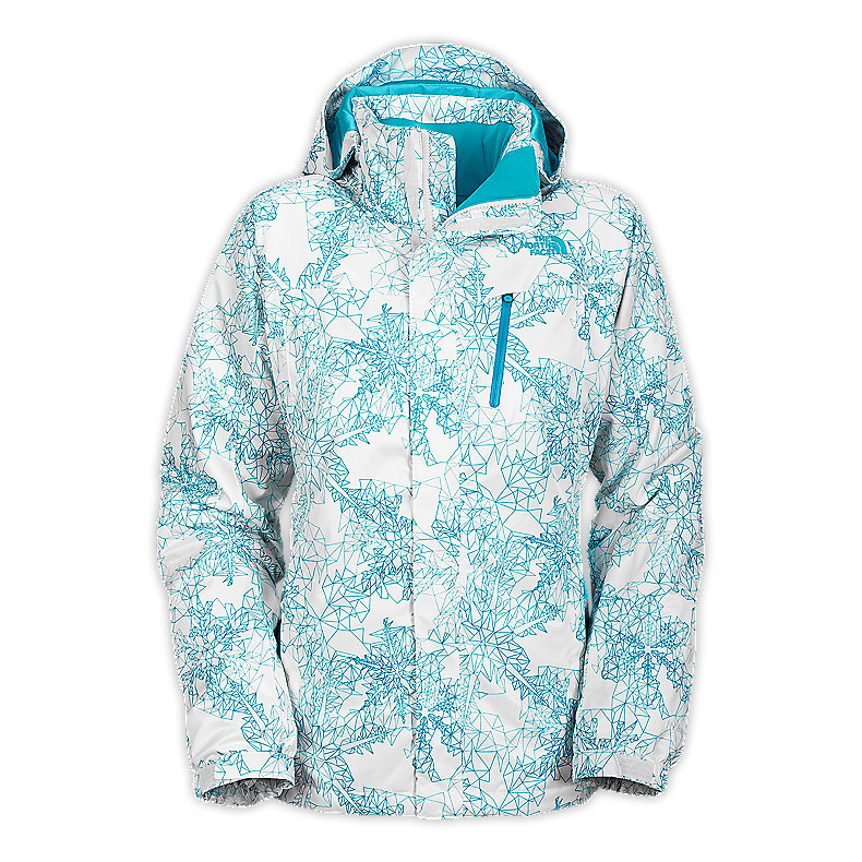 WOMEN'S SNOW COUGAR PRINT JACKET