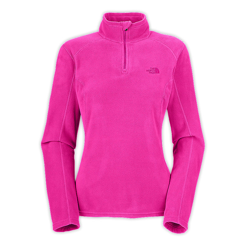 WOMEN'S TKA 100 MICROVELOUR GLACIER 1/4 ZIP
