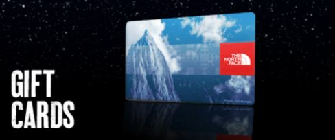 Shop for The North Face Gift Cards