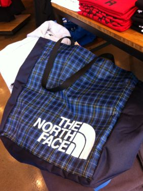 The North Face closed loop tote bag