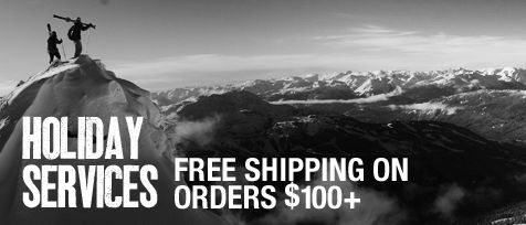 For a limited time - Free Shipping with orders $100+