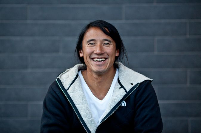 The North Face athlete Jimmy Chin