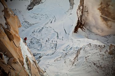 Renan Ozturk - climber - Meru expedition