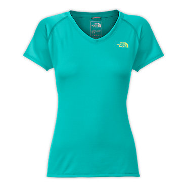 photo: The North Face Short-Sleeve Reaxion Amp V-Neck Tee