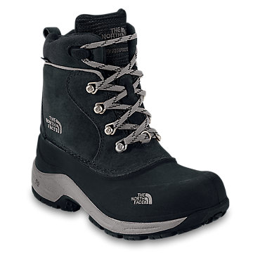 photo: The North Face Boys' Chilkats Lace winter boot