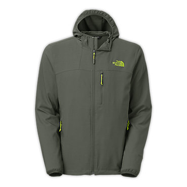 photo: The North Face Nimble Hoodie soft shell jacket