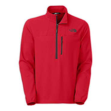 photo: The North Face Men's Nimble Zip Shirt long sleeve performance top