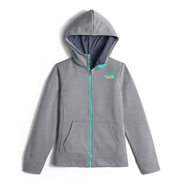 photo: The North Face Girls' Surgent Full Zip Hoodie