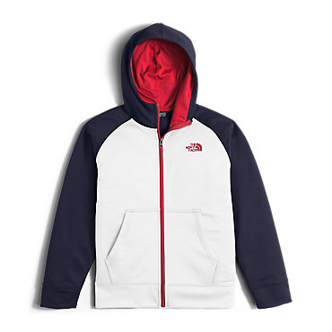 photo: The North Face Boys' Surgent Full Zip Hoodie