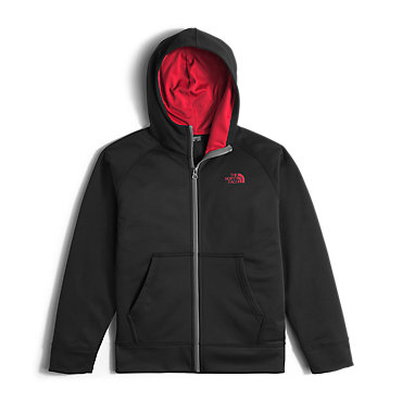 photo: The North Face Boys' Surgent Full Zip Hoodie fleece jacket