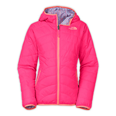 photo: The North Face Girls' Reversible Perrito Peak Jacket