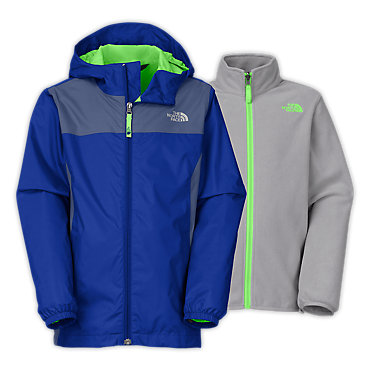 photo: The North Face Kids' Stormy Rain Triclimate