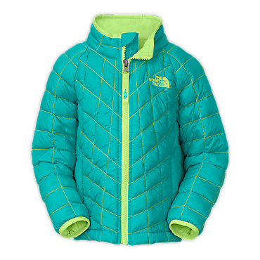 photo: The North Face Girls' Thermoball Hybrid Jacket