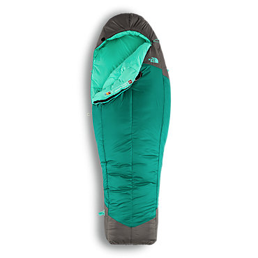 photo: The North Face Women's Snow Leopard 0° 3-season synthetic sleeping bag