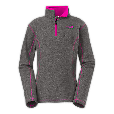 photo: The North Face Girls' Glacier 1/4 Zip