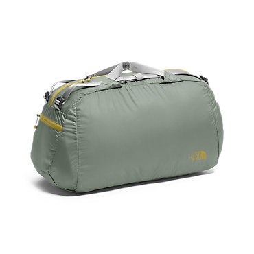 photo: The North Face Flyweight Duffel pack duffel