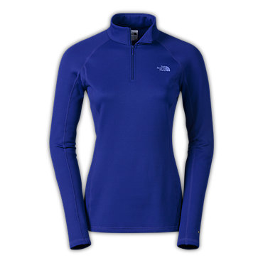photo: The North Face Women's Expedition Long-Sleeve Zip Neck