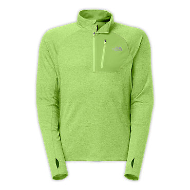 photo: The North Face Impulse Active 1/4 Zip long sleeve performance top