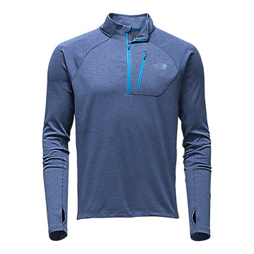 photo: The North Face Men's Impulse Active 1/4 Zip long sleeve performance top