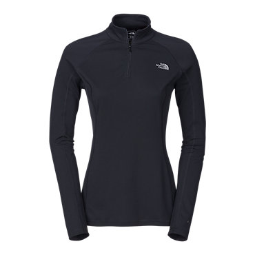 photo: The North Face Women's Light Long-Sleeve Zip Neck