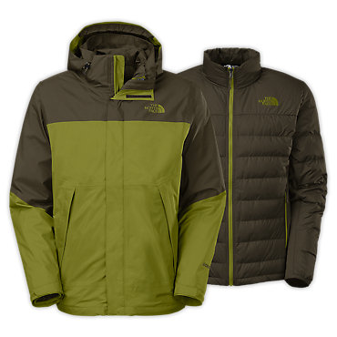 photo: The North Face Men's Mountain Light Triclimate Jacket