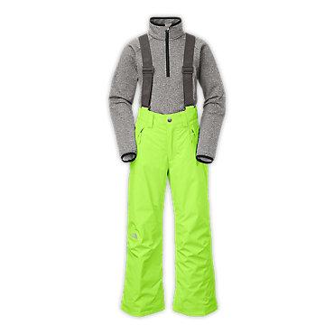 photo: The North Face Boys' Snowquest Suspender Pants
