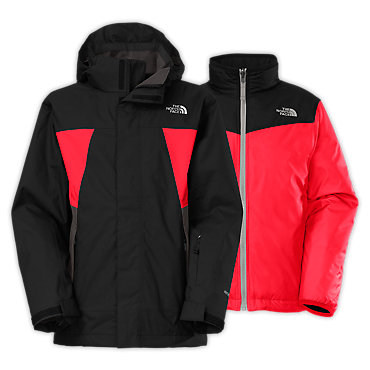 photo: The North Face Boys' Abbit TriClimate Jacket