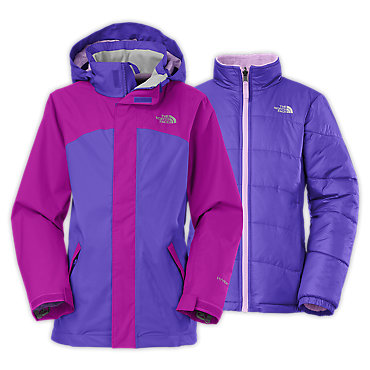 photo: The North Face Girls' Abbit TriClimate Jacket
