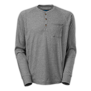 photo: The North Face Long-Sleeve Seward Henley hiking shirt
