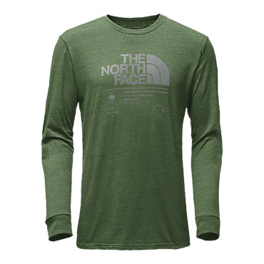 The North Face Long-Sleeve Tri-Blend Tee