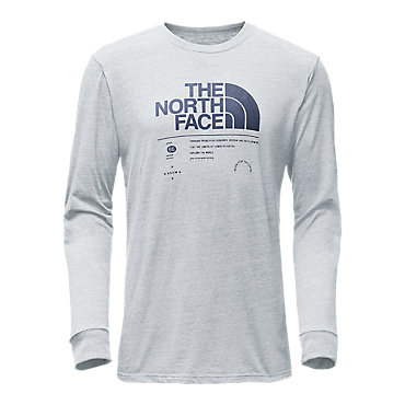 photo: The North Face Long-Sleeve Tri-Blend Tee
