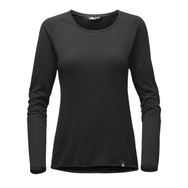 photo: The North Face Women's Long-Sleeve FlashDry Crew