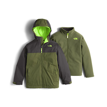 photo: The North Face Boys' Chimborazo Triclimate Jacket