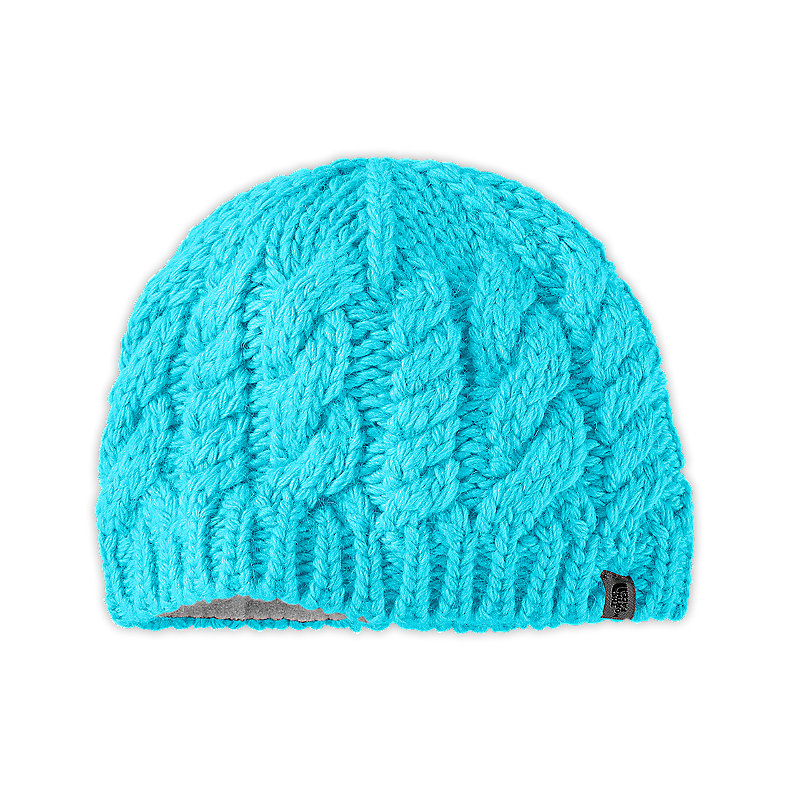 GIRLS' CABLE FISH BEANIE