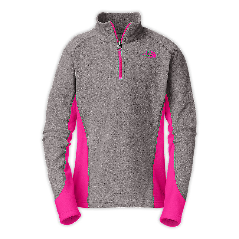GIRLS' GLACIER MICRO 1/4 ZIP