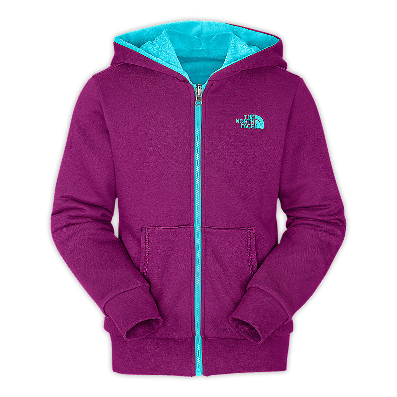 GIRLS' REVERSIBLE ELLOISE FULL ZIP HOODIE