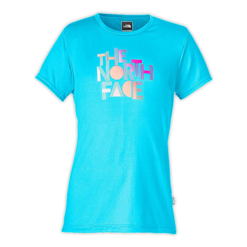 GIRLS' TNF™ TONE REAXION CREW TEE