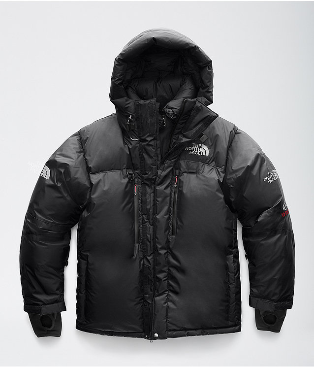 North face himalayan long parka green