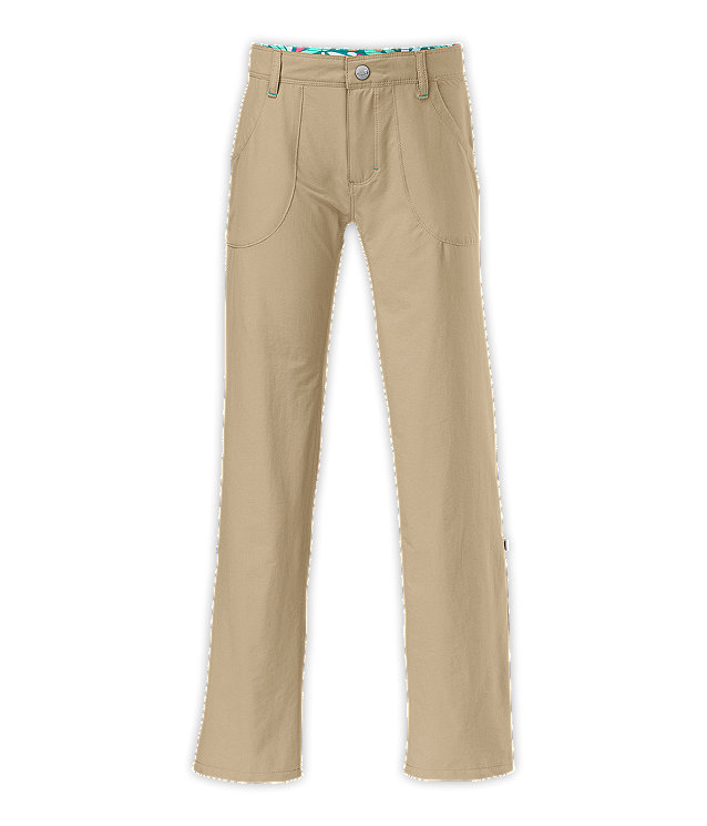 GIRLS' CAMP TNF™ ROLL UP PANTS
