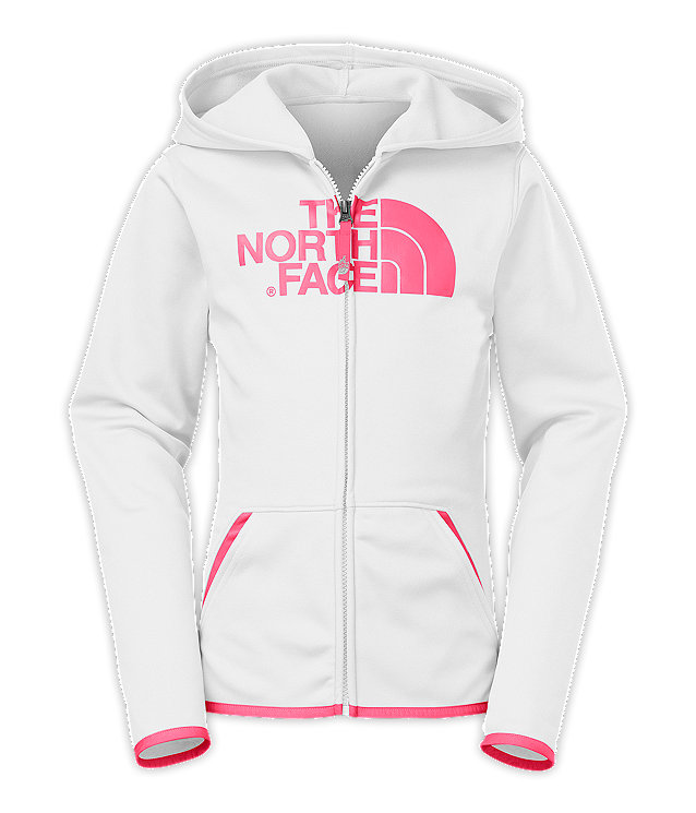 GIRLS' PERFORMANCE FULL ZIP HOODIE