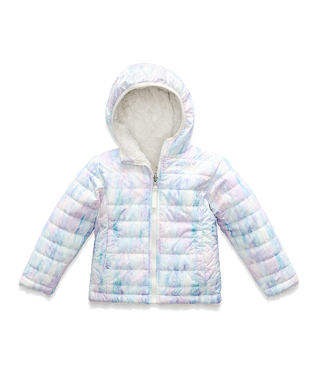 TODDLER GIRLS' REVERSIBLE MOSSBUD SWIRL JACKET