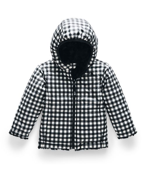 TODDLER GIRLS' REVERSIBLE MOSSBUD SWIRL JACKET-