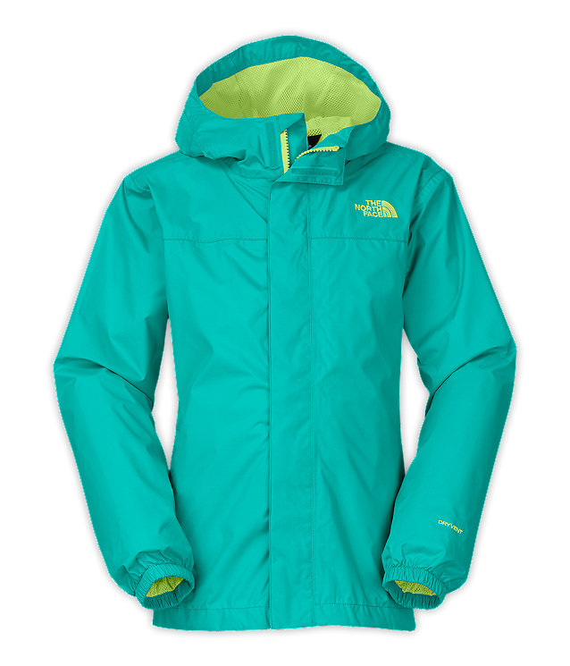 GIRLS' ZIPLINE RAIN JACKET | United States