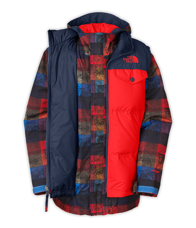 BOYS' VESTAMATIC TRICLIMATE® JACKET
